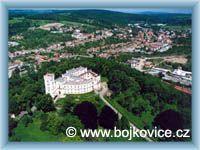 Bojkovice a Zámek Nový Světlov