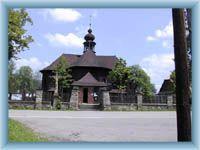 Velké Karlovice - dřevěný kostel