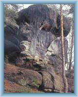 Skalní věž Slon