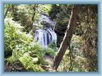 Pohled na vodopády Bílé Opavy