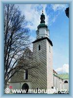 Bruntál - Kostel Nanebevzetí Panny Marie
