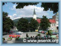 Jeseník - Masarykovo náměstí