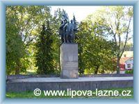 Lipová - Památník obětem Frývaldovské stávky