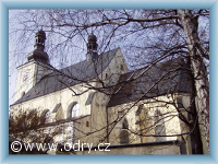 Odry - Kostel sv. Bartoloměje