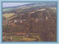 Celkový pohled na Hradec nad Moravicí