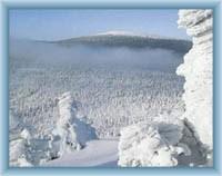 Pohled na Keprník z Červené hory