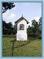 Kaplička z Křížové cesty ve Stříbrnici