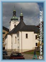Jablonec n. N. - Kostel sv.Anny