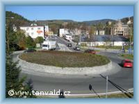 Příjezd do Tanvaldu