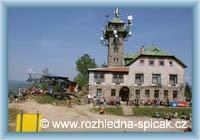 Tanvaldský Špičák - chata u rozhledny