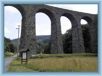 Železniční viadukt v Kryštofově Údolí