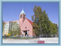 Kostel ve Mšeně