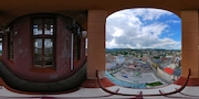 Jablonec nad Nisou - pohled z radnice