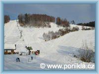 Poniklá - lyžařský areál Homole
