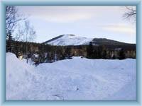 Čertova hora v zimě