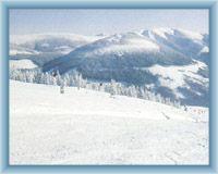 Pohled z Medvědína na východ