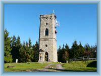 Přední Žalý - vež rozhledny