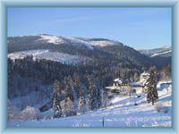Špindlerův Mlýn - zimní pohled