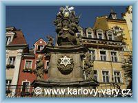 Karlovy Vary - Morový sloup
