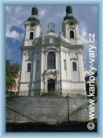 Karlovy Vary - Kostel Máří Magdalény