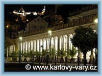 Karlovy Vary - Mlýnská kolonáda
