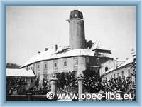Libá - Historické foto zámku
