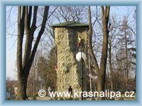 Krásná Lípa - Otevřená lezecká stěna