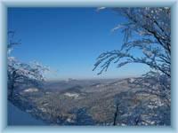 Pohled z vrcholku hory Klíč