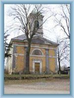 Kostel v Kunraticích