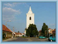 Dolní Věstonice - centrum obce