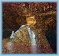 Jeskyně Balcarka - krápníková výzdoba