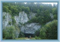 Sloupsko-šošůvské jeskyně - vstup