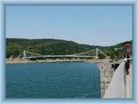 Vranovská přehrada - most přes zátoku