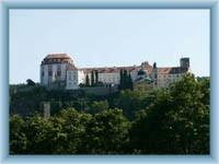 Zámek Vranov z města