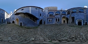 Hrad Buchlov - nádvoří
