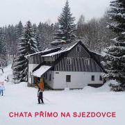 Horská chata Studánka na sjezdovce
