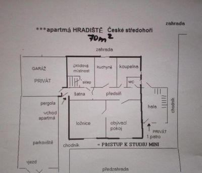 ***Ubytování v soukromí České středohoří Hradiště