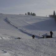 Skiareál Čenkovice - Nad parkovištěm