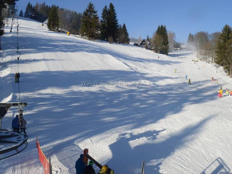 Skiareál Černá Říčka