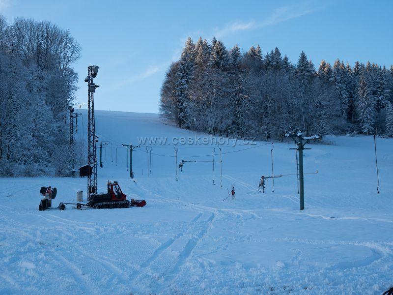 Skiareál Polevsko