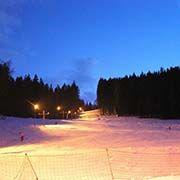Skiareál Nad Kovárnou - Horní Vltavice