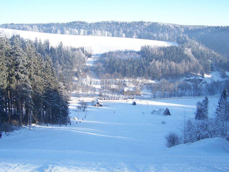Skiareál Bystré - Hamry