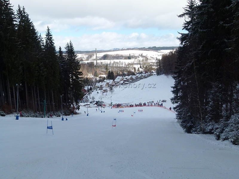 Skiareál Kamenec - Jablonec nad Jizerou