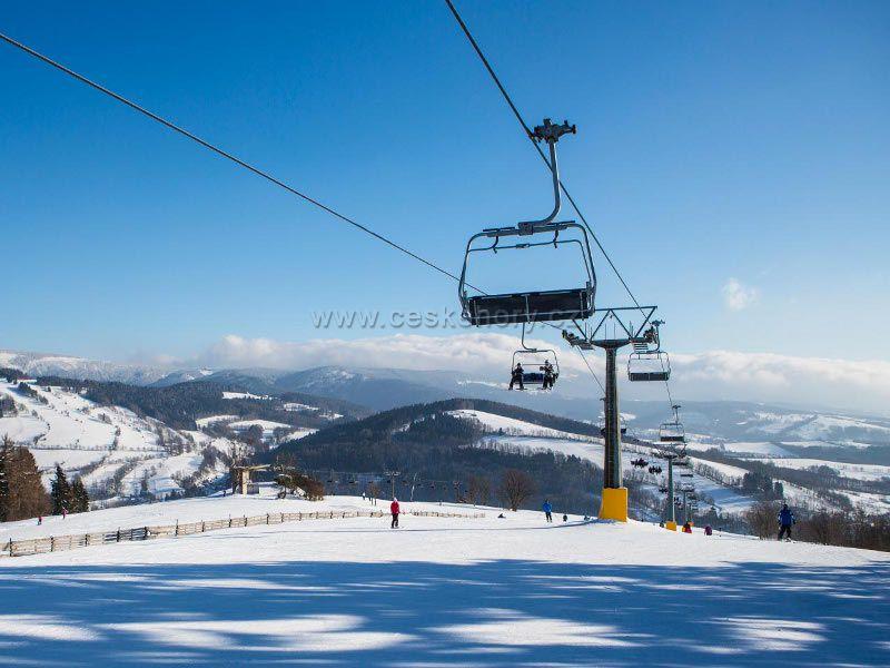 Skiareál Vrchlabí Kněžický vrch