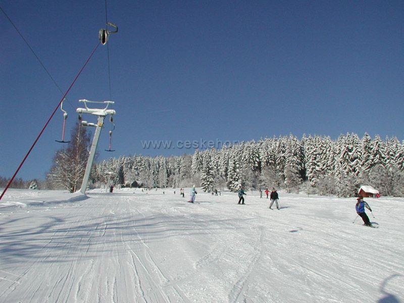 Skiareál Luisino údolí