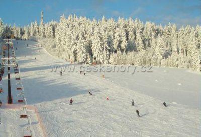 Skiareál Harusák Nové Město na Moravě