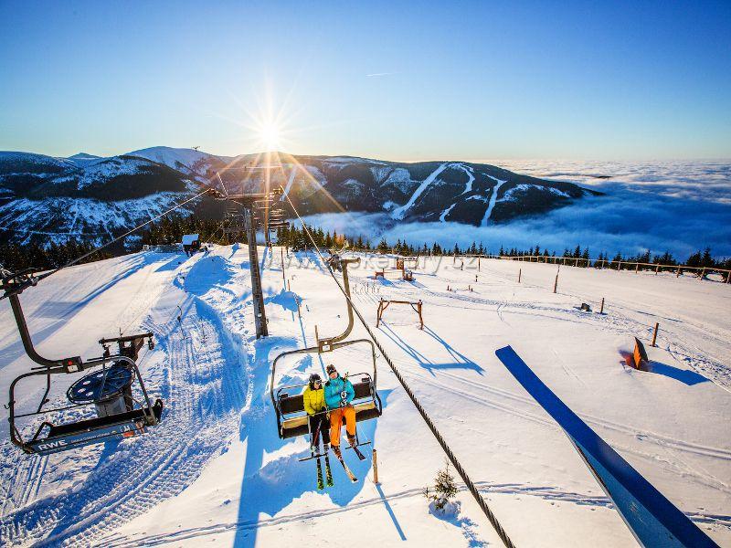 Skiareál Špindlerův Mlýn