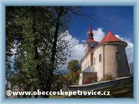 Kostel v Českých Petrovicích