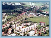 Meziměstí - Letecký pohled