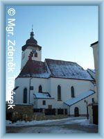 Nové Město nad Metují - Hildenské atrium - kostel